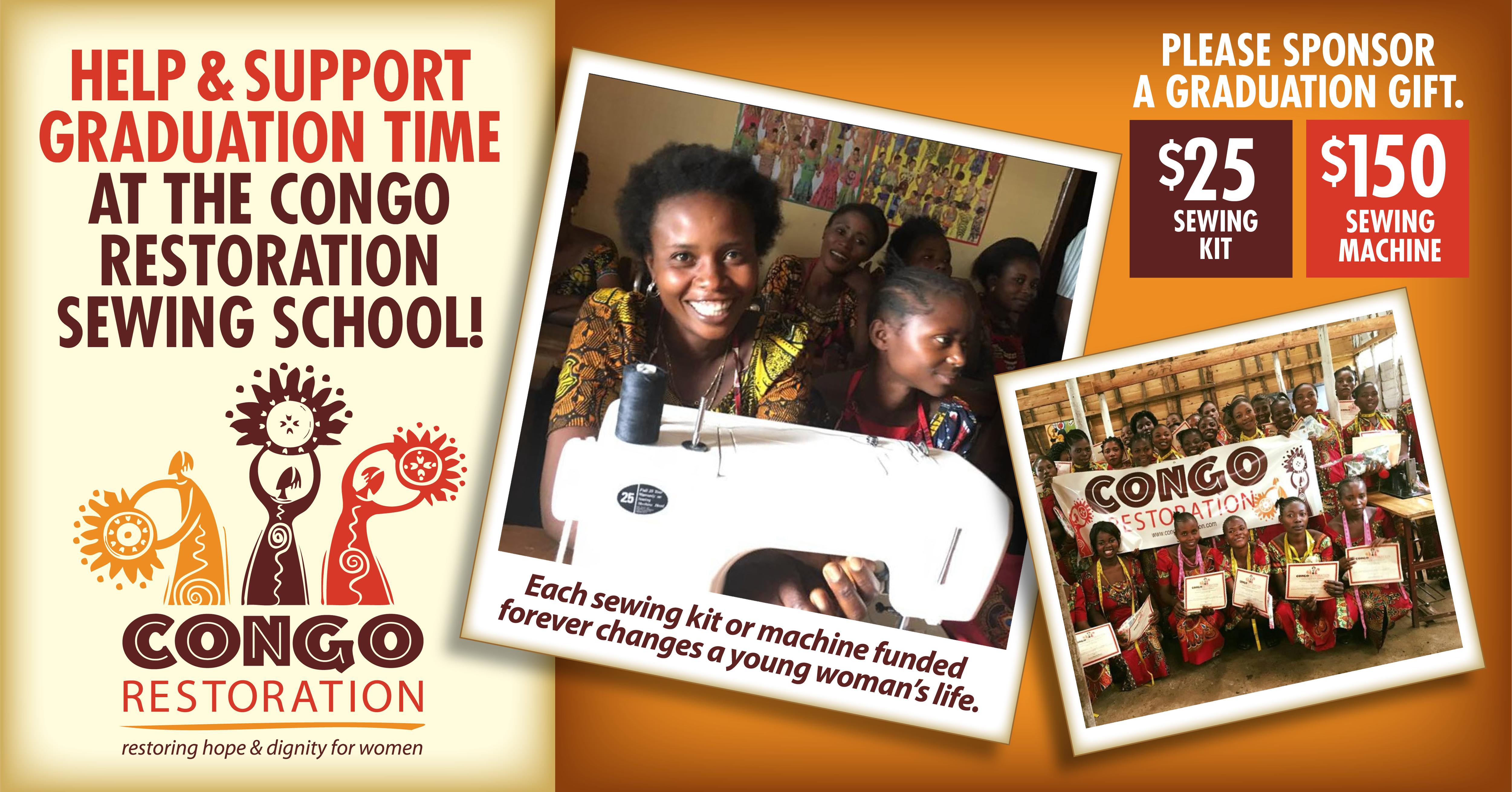 2018 Congo Sew School Ad